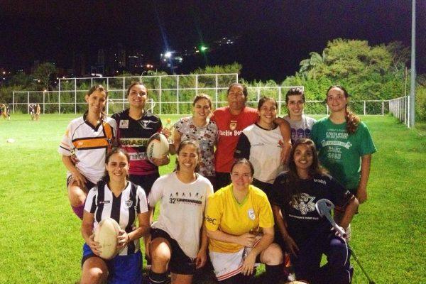 UNI/BH Rugby feminino de volta aos treinos